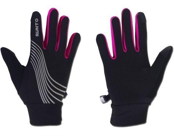 Běžecké rukavice WARRIOR Pink
