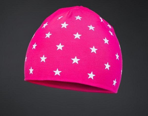 Dětská čepice STARS Pink
