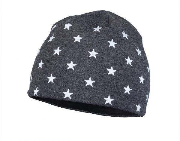 Dětská zimní čepice STARS Dark