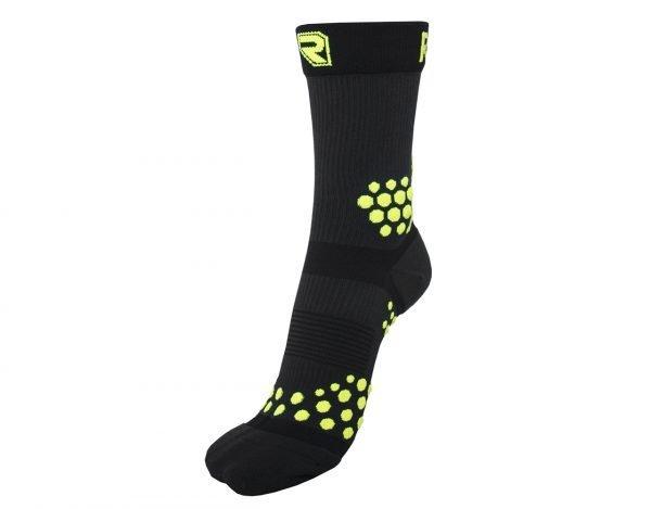 Kompresní ponožky TRAIL Černo Žluté