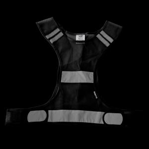 Sportovní Reflexní Vesta Černá
