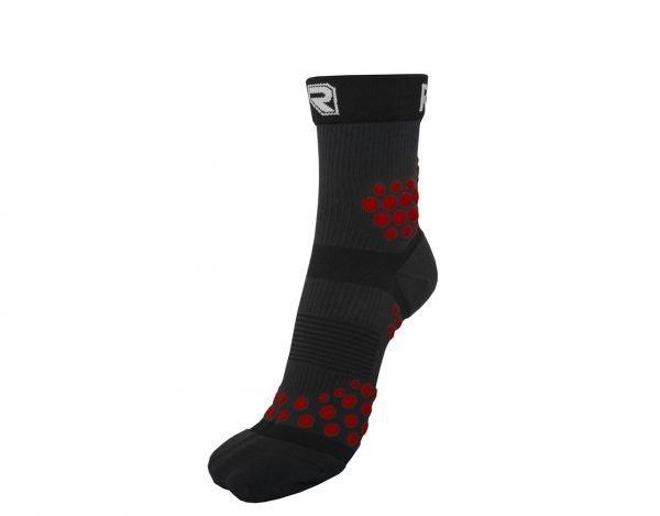Kompresní Ponožky TRAIL Černo - Červené