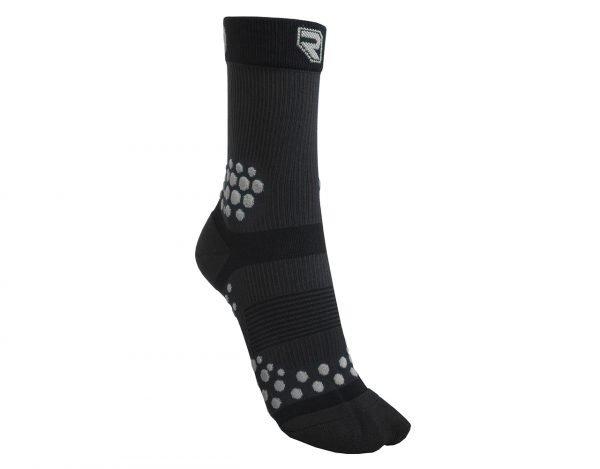 Kompresní Ponožky TRAIL Černo - Šedé